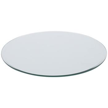 Round Decorative Mirror Plate