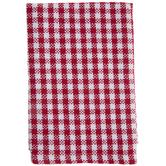 Red & White Gingham Dishcloths