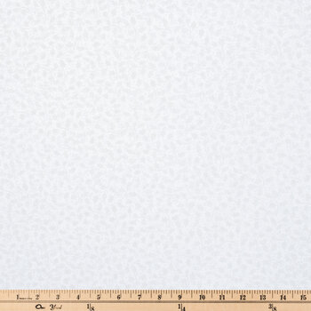White Holly Cotton Fabric