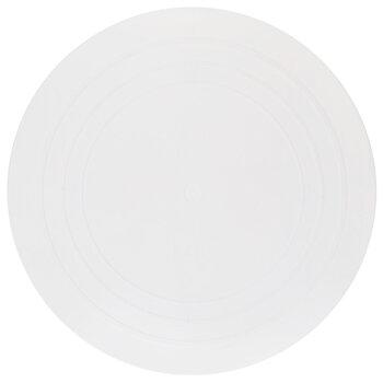 "White Round Cake Separator Plate - 14"""