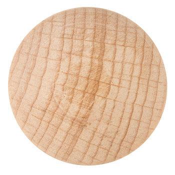 Natural Wood Round Knob