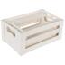 White Wood Boxes