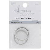 Stainless Steel Rings - Size 8