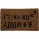 Basically A Zoo Coir Doormat