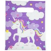 Unicorn Zipper Bags With Handles