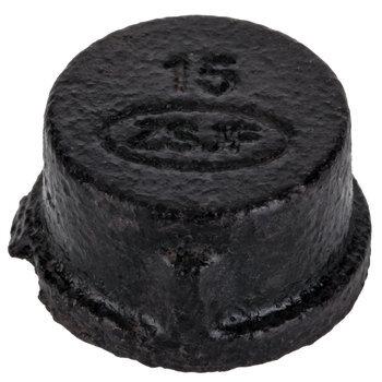 Black Pipe Metal Cap