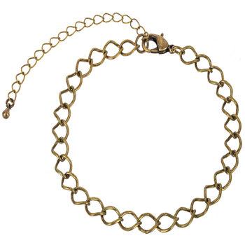 "Large Link Chain Bracelet - 7 1/2"""