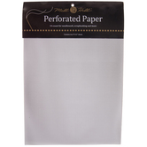 "White 14-Count Perforated Cross Stitch Paper - 9"" x 12"""