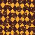 Maroon & Gold Football Fleece Fabric