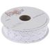 White Cotton Lace Ribbon - 1