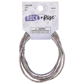 Pastel Rhinestone Cup Chain Bracelets