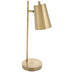 Metallic Gold Adjustable Task Lamp