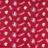 Florida State Allover Collegiate Cotton Fabric