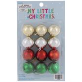 Metallic Ball Ornaments