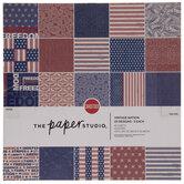 """Vintage Nation Cardstock Paper Pack - 12"""" x 12"""""""