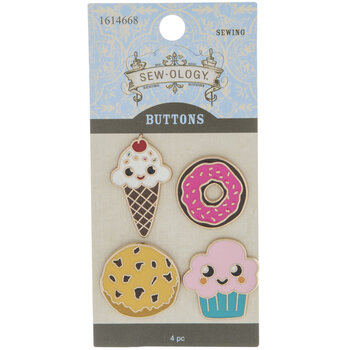 Sweets Enamel Shank Buttons