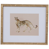 Leopard Framed Wall Decor