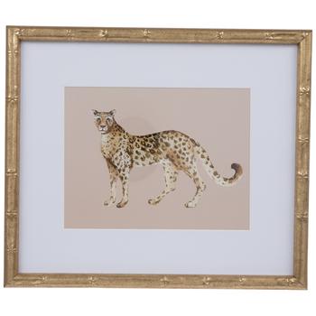 Leopard Framed Wall Decor