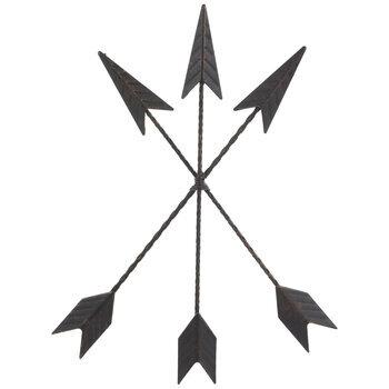 Arrow Trio Metal Wall Decor