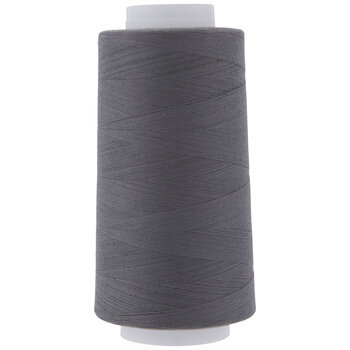 1006 Dark Gray Overlocking Poly Thread