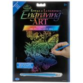 Butterflies Rainbow Engraving Art Kit