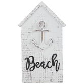 Beach Ship's Anchor House Wood Decor