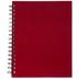 Red Wire Bound Sketchbook - 7