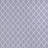 Gray & White Geometric Lattice Apparel Fabric