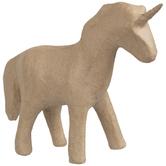 Paper Mache Standing Unicorn