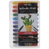 Classic Watercolor Creams