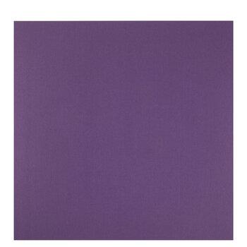 """Dark Purple Textured Cardstock Paper - 12"""" x 12"""""""