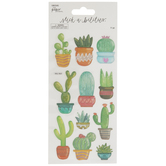 Translucent Cacti Stickers