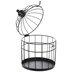Matte Black Birdcage - Large