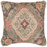 Damask Woven Pillow Cover