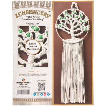 Tree Of Life Macrame Kit