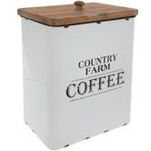 Country Farm Coffee Canister