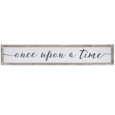 Once Upon A Time Wood Wall Decor