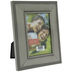 Brushed Pewter Metal Frame With Dotted Edge - 3 1/2