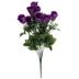 Purple Rose & Gypsophila Bush