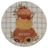 Grateful Thankful Blessed Paper Plates