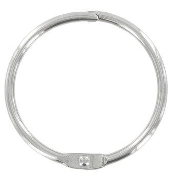 Silver Binder Rings
