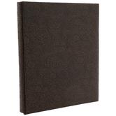 Floral Embossed Post Bound Scrapbook Album