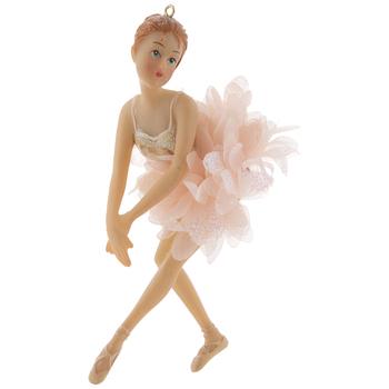 Pink Ballerina Ornament