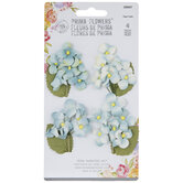 Blue Hydrangea Sprig Embellishments