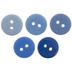 Blue Buttons - 13mm