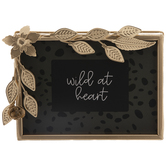 Wild At Heart Leafy Framed Decor