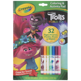 Trolls World Tour Coloring & Activity Pad