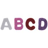 Glitter Alphabet Letter Foam Stickers