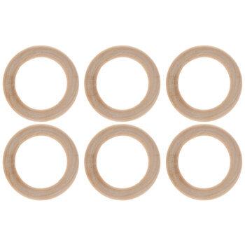 """Wood Rings - 2"""""""