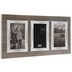 Distressed Wood Plank Collage Wall Frame